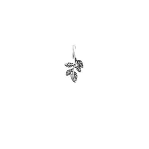 Sterling silver vine design necklace pendant, meaning spirited, from Evolve Inspired Jewellery