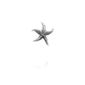 Sterling silver starfish design necklace pendant, meaning love, from Evolve Inspired Jewellery