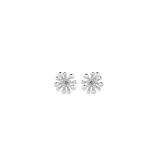 Sterling silver stud earrings, meaning growth, from Evolve Inspired Jewellery