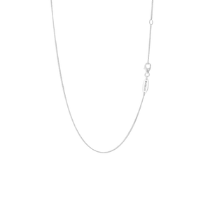 Sterling silver curb necklace or pendant chain, from Evolve Inspired Jewellery