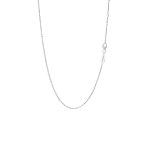 Sterling silver small cable necklace or pendant chain, from Evolve Inspired Jewellery