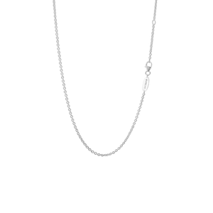 Sterling silver medium cable necklace or pendant chain, from Evolve Inspired Jewellery