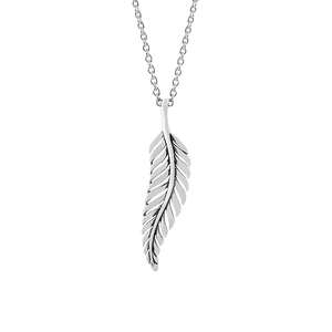 Sterling silver nz fern design necklace, from Evolve Inspired Jewellery
