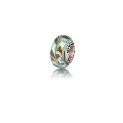 Murano glass bead charm meaning freedom from Evolve Inspired Jewellery