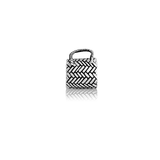 Kete, silver bead charm meaning treasures from Evolve Inspired Jewellery