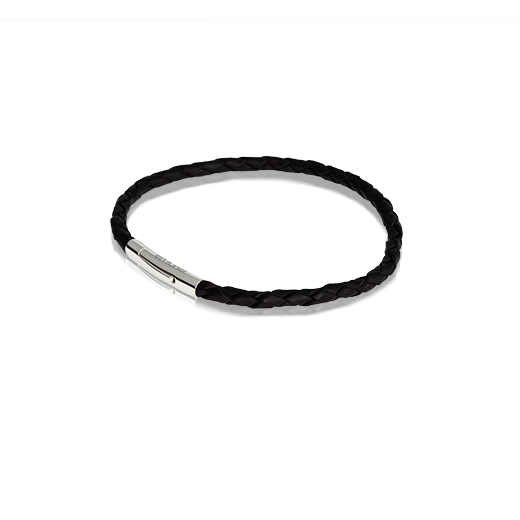 Black Single Journey Bracelet