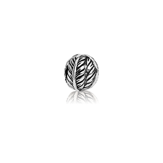 Friendship Fern Clip, silver clip charm from Evolve Inspired Jewellery