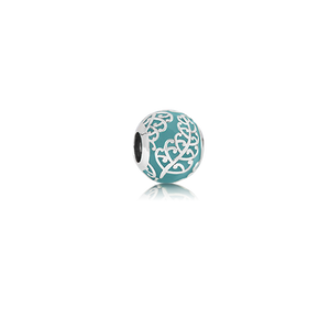 Koru Fern, enamel bead charm meaning family from Evolve Inspired Jewellery