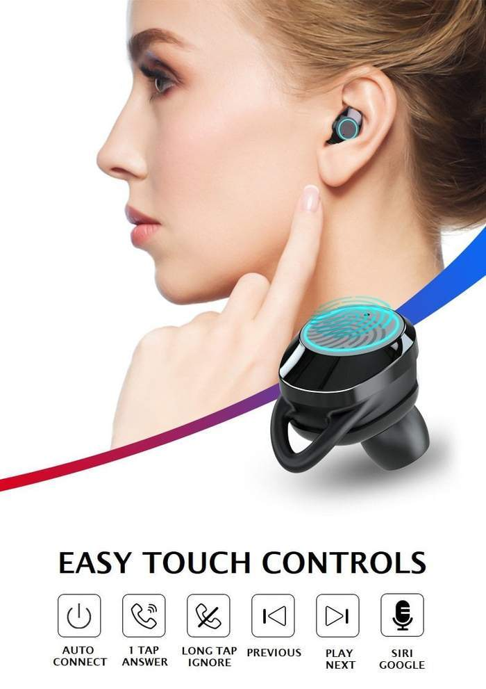 Smarte in-ear hodetelefoner
