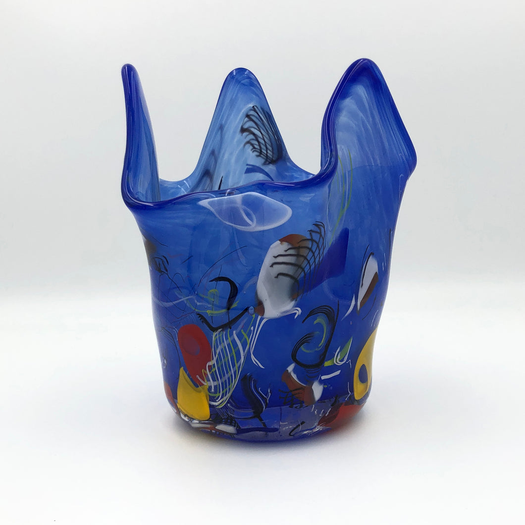 Blue Fazzoletto Bowl