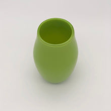 Load image into Gallery viewer, Opaque Green Vase