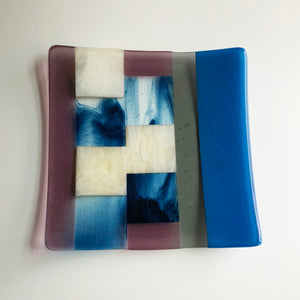 Lines Square Plate