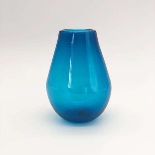 Translucent Blue Vase