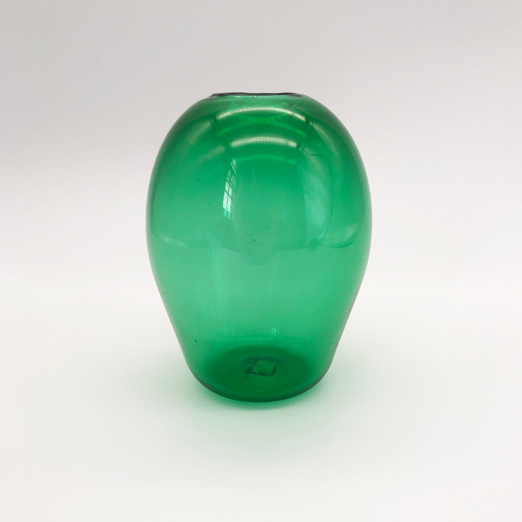 Translucent Green Vase