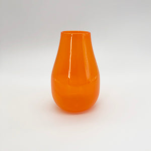 Translucent Orange Vase