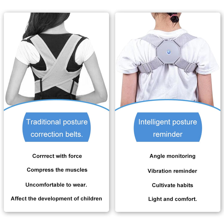 Adjustable Posture Trainer Smart Posture Corrector Upper Back Brace Clavicle Support for Men and Women Pain Relief