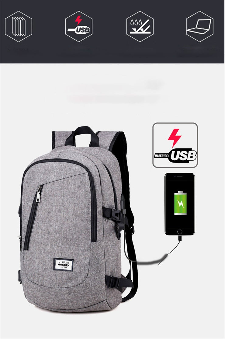 Classy Secure Travel Backpack - AccessorieSpirit