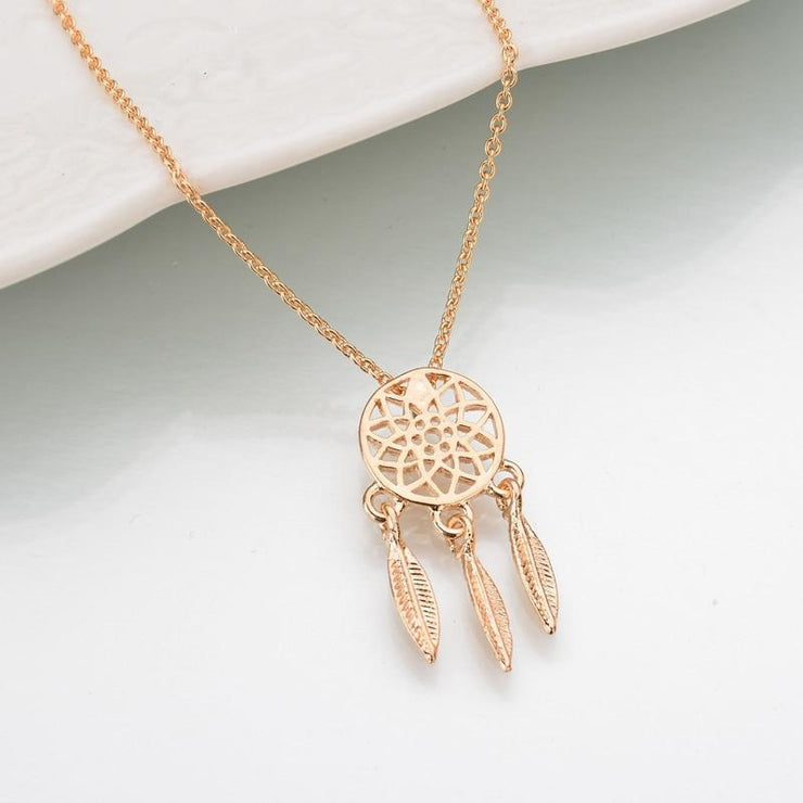 Dream Catcher Necklace - AccessorieSpirit
