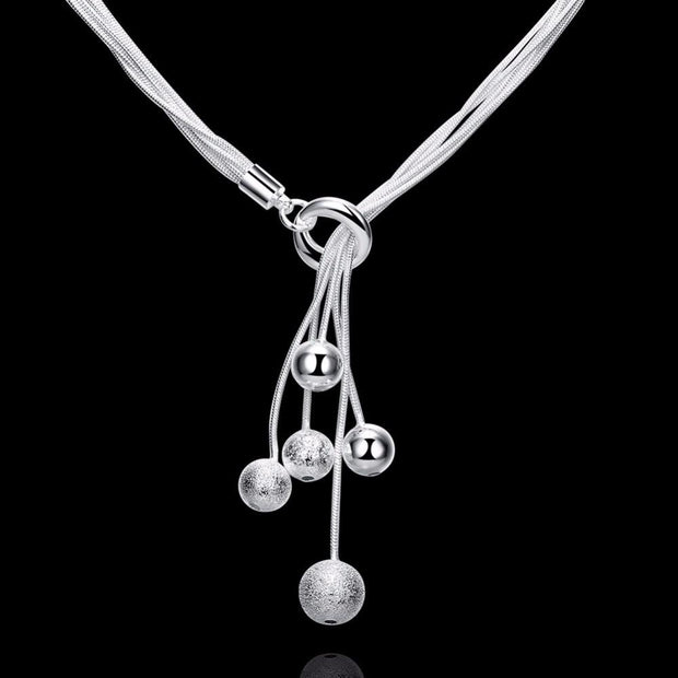 Elegant Sterling Silver Necklace - AccessorieSpirit