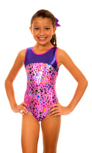 Makenna Pink Partytime Leotard