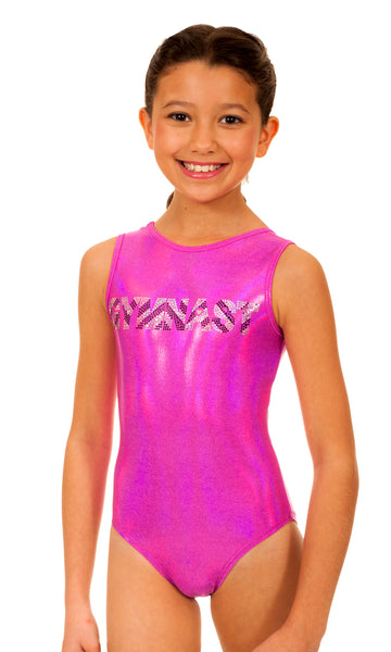 Bree Chevron GYMNAST Leotard