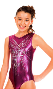 Tiffany Ruby BLING Leotard