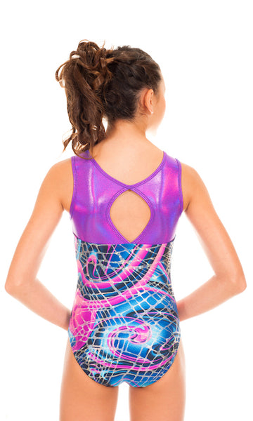 Makenna Abstract Leotard