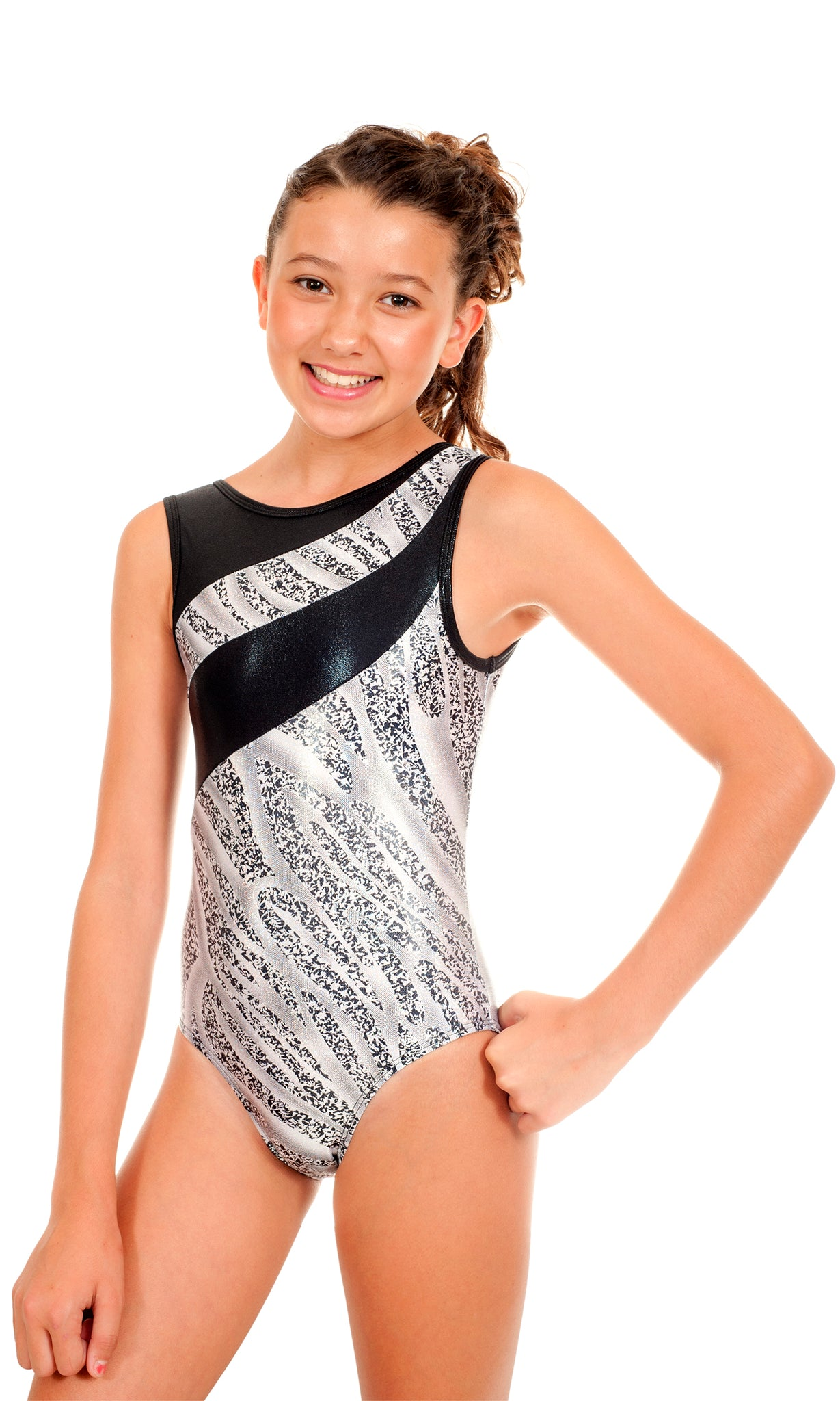 Samantha White Tigress Leotard