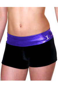 Gymstar Purple Mystique Hipster Shorts