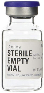 10ml Hospira Sterile Empty Vial