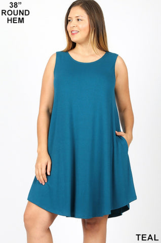 tank pocket dress