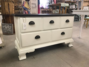 White Veil 2 Drawer Dresser