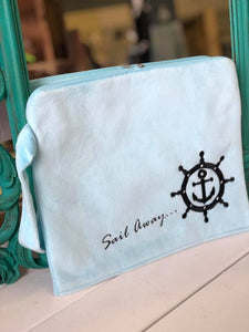 Sail Away Wet Bikini Clutch Bag