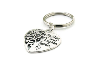 Mother and Daughter Forever Key Chain