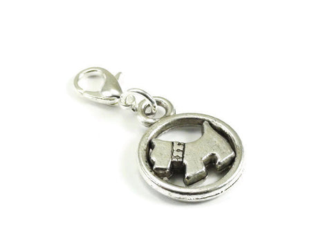 Dog Clip On Charm