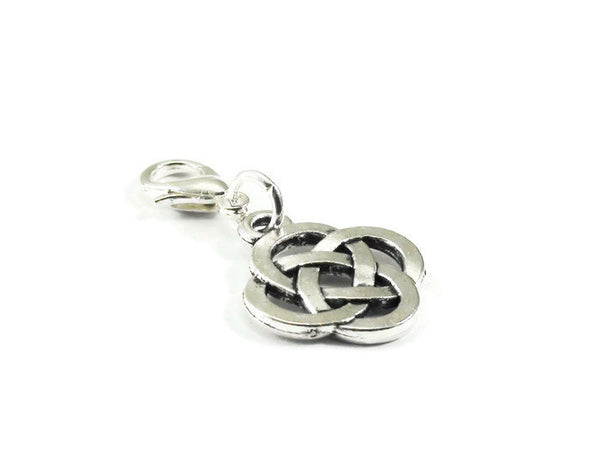 Celtic Knot Clip On Charm