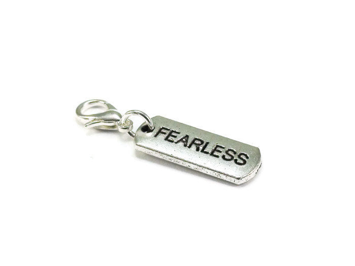 Fearless Clip On Charm