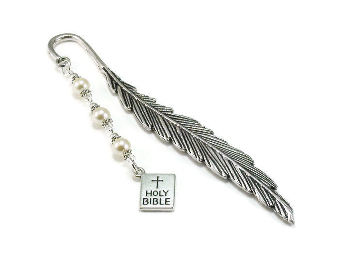 Feather Bible Bookmark