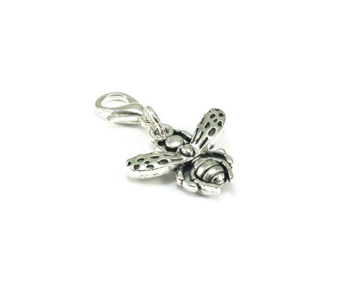 Bee Clip on Charm