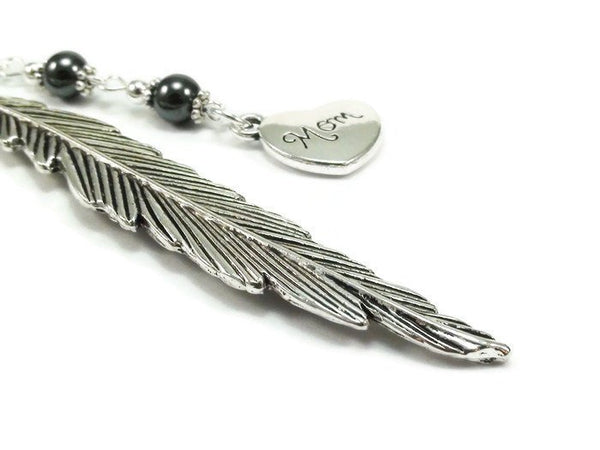 Feather Mom Bookmark