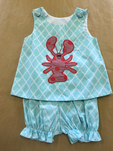 2pc Lobster Outfit