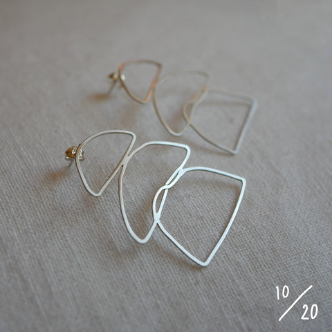 (10) 3 shapes earrings - By James Wilson