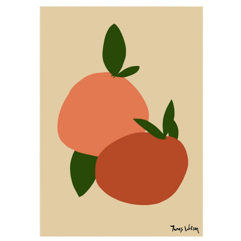 'Oranges' - Print - By James Wilson