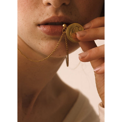 'Carmen' Coin Necklace - Somme Studio x James Wilson - By James Wilson