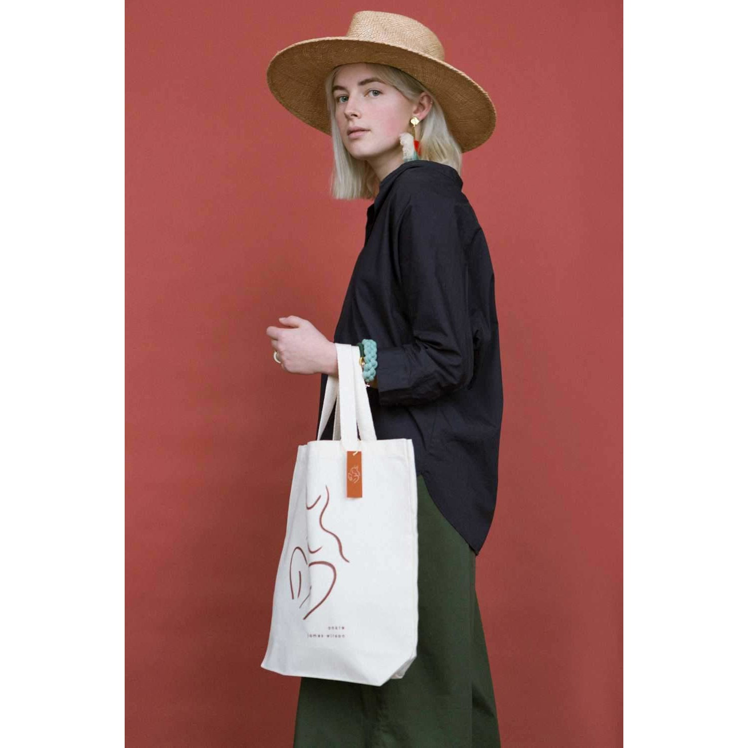 ANKLE x James Wilson — Organic Day Bag - By James Wilson