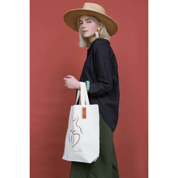 Ankle x James Wilson - Organic Tote Bag - By James Wilson