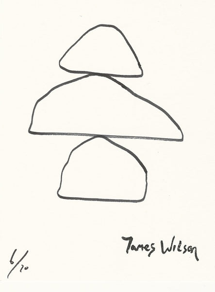 (6) 3 shapes earrings - By James Wilson