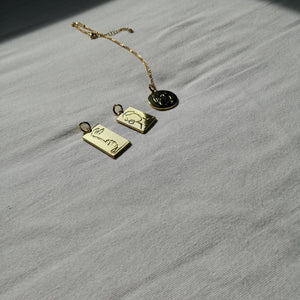 'in one piece' Pendant Necklace