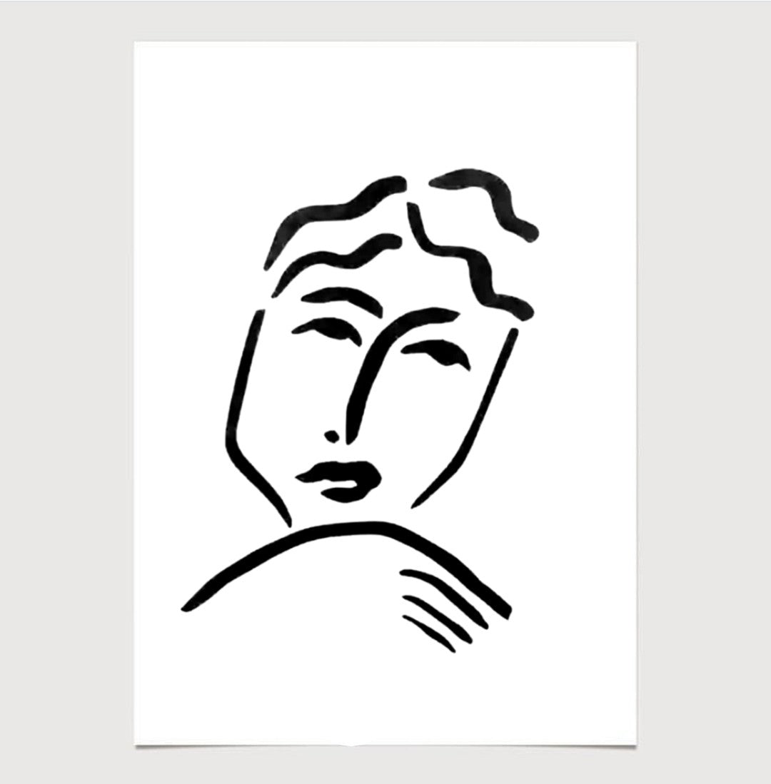'Portrait' - Print - By James Wilson