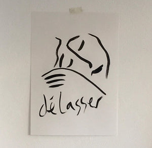 Délasser - original artwork - By James Wilson